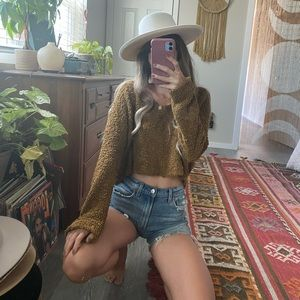 Baggy Free People sweater ✌🏼